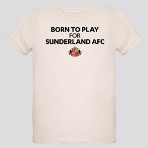 Born To Play For Sunderland A Organic Kids T-Shirt