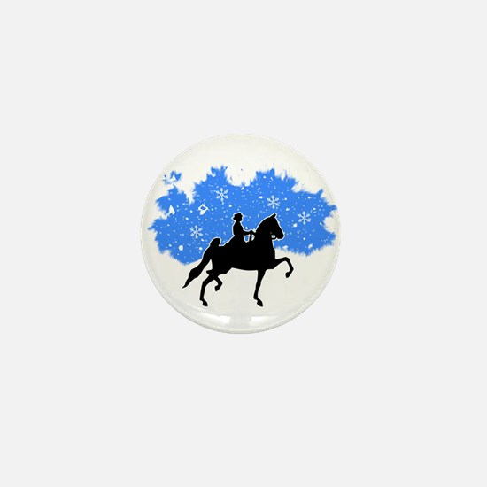 American Saddlebred horse Mini Button