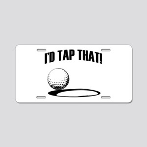 ID TAP THAT! Aluminum License Plate