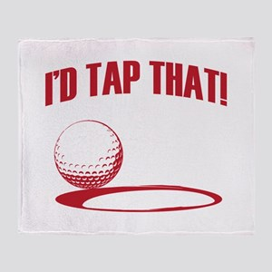 ID TAP THAT! Throw Blanket