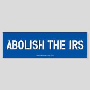 Abolish the IRS Bumper Sticker