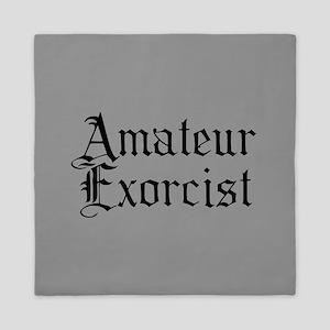 Amateur Exorcist Queen Duvet