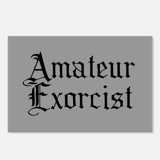 Amateur Exorcist Postcards (Package of 8)