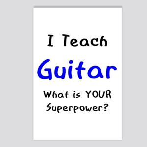 teach guitar Postcards (Package of 8)