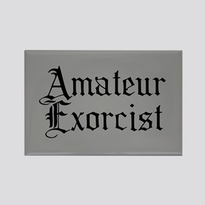 Amateur Exorcist Rectangle Magnet