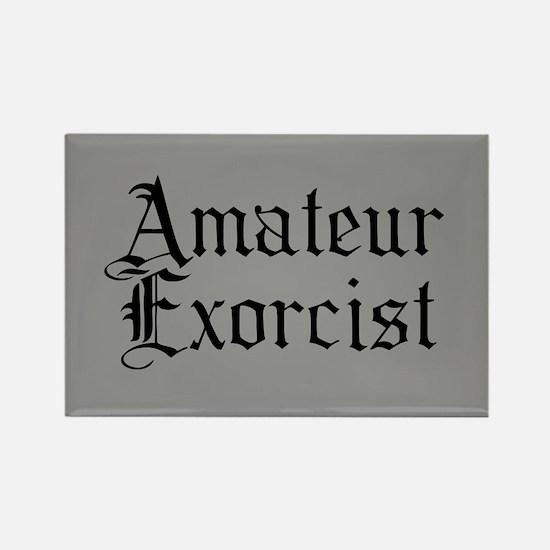 Amateur Exorcist Rectangle Magnet