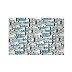 School of Barracudas 1 Rectangle Magnet (100 pack)