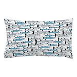 School of Barracudas 1 Pillow Case