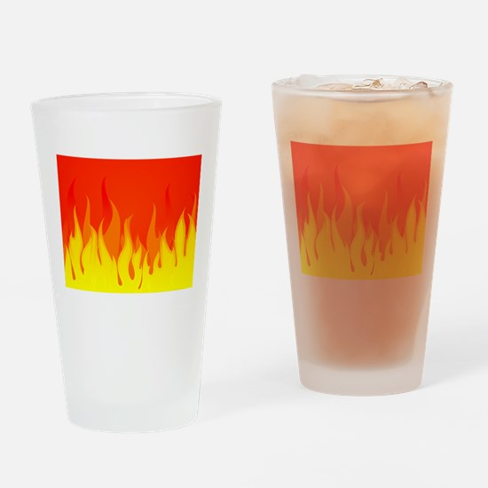 Fires Drinking Glass