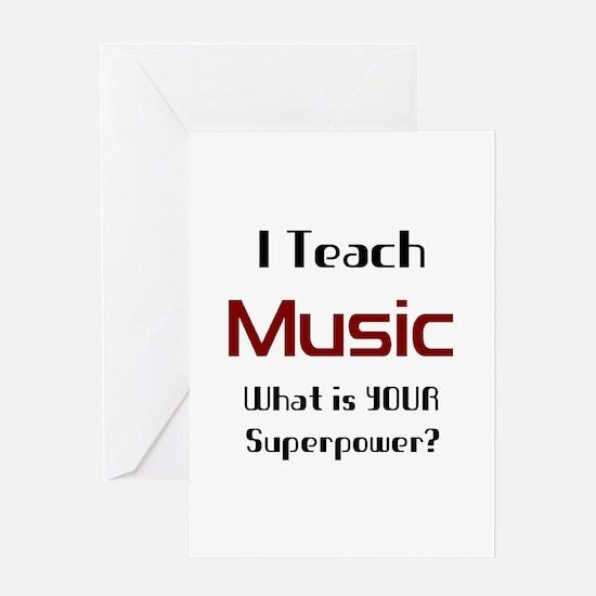 teach music Greeting Card