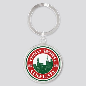 New York Welsh American Keychains