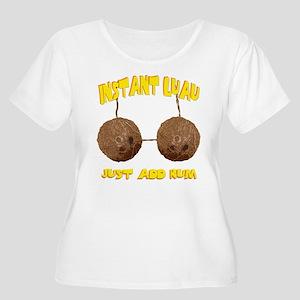 Instant Luau Plus Size T-Shirt