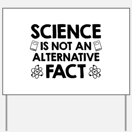 Science Yard Sign