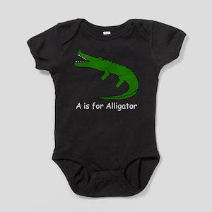 alligator10 Baby Bodysuit