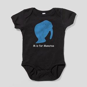Manatee10 Baby Bodysuit