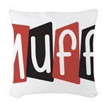 Muff Woven Throw Pillow