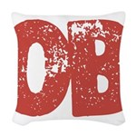 OB Woven Throw Pillow