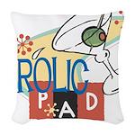 FrolicPad10 Woven Throw Pillow