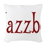 Jazzbo10 Woven Throw Pillow