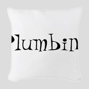 Plumbing10x8 Woven Throw Pillow