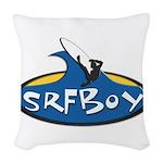 SRFBOY Woven Throw Pillow