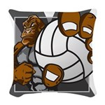 Apex Volleyball Woven Throw Pillow