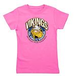 Vikings Logo Girl's Tee