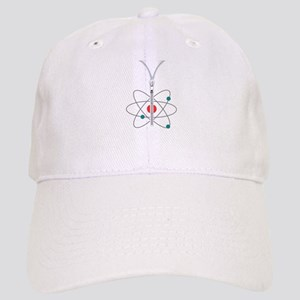 Zippered Atom Baseball Cap