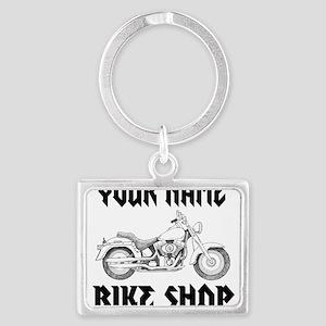 Custom Bike Shop Keychains