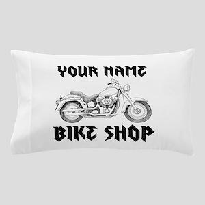Custom Bike Shop Pillow Case