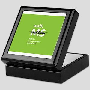 Walk to create a world free of MS Keepsake Box