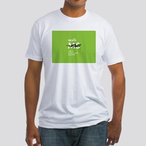 Walk to create a world free of MS Fitted T-Shirt