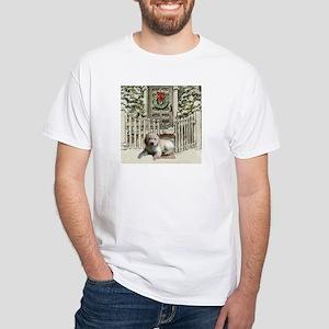 Goldendoodle Christmas White T-Shirt