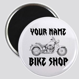 Custom Bike Shop Magnet