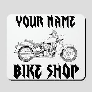 Custom Bike Shop Mousepad