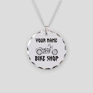 Custom Bike Shop Necklace