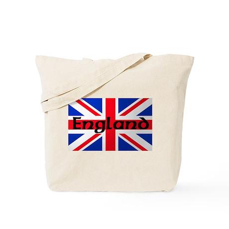 Union Jack Flag England Tote Bag