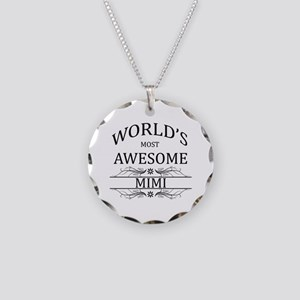 World's Most Awesome Mimi Necklace Circle Charm