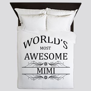 World's Most Awesome Mimi Queen Duvet