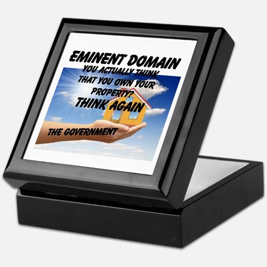 Eminent Domain Keepsake Box