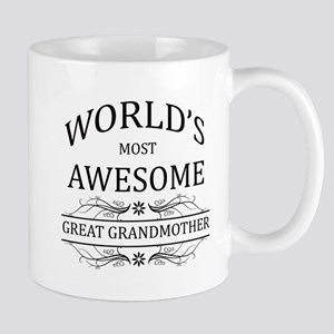 World's Most Awesome Great Grandmother Mug