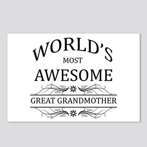 World's Most Awesome Great Grandmother Postcards (