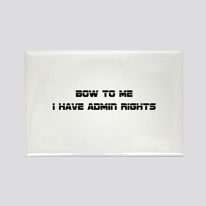 Admin Rights Magnets