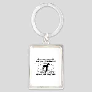 Miniature Pinscher Dog breed designs Portrait Keyc
