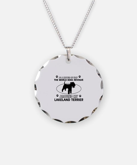 Lakeland Terrier Dog breed designs Necklace