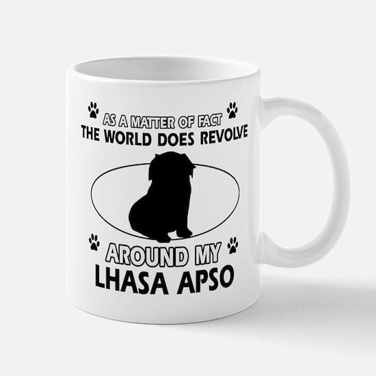 Lhasa Apso Dog breed designs Mug