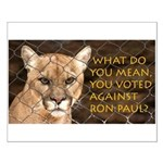 You Voted Against Ron Paul? Small Poster