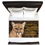 You Voted Against Ron Paul? King Duvet
