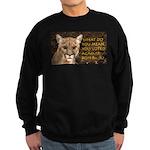 You Voted Against Ron Paul? Sweatshirt (dark)