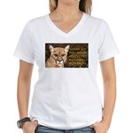 You Voted Against Ron Paul? Women's V-Neck T-Shirt
